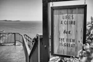 Life's a climb
