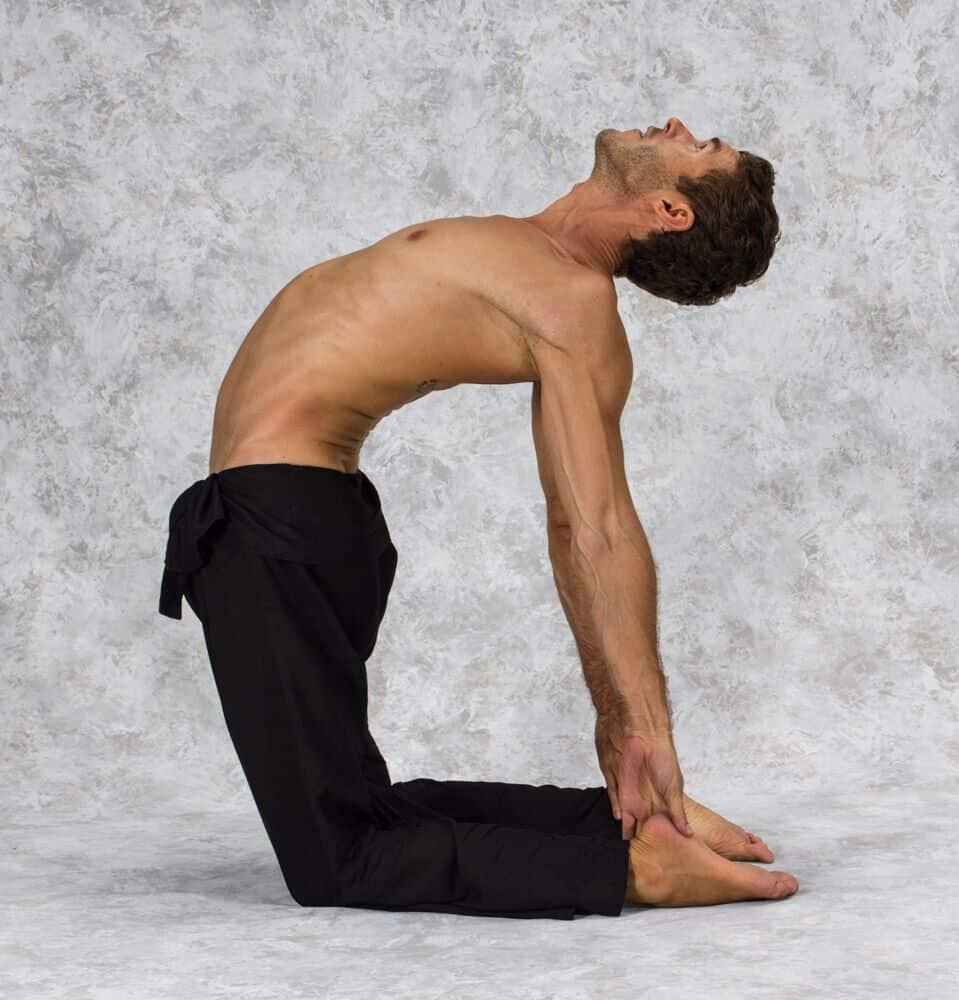 How To Do Camel Pose 4