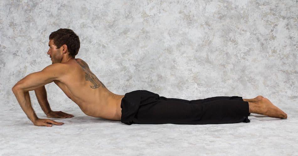 How To Do Cobra Pose 4