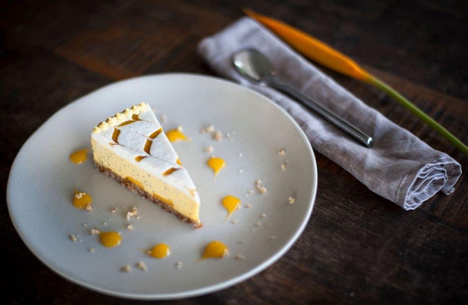 mango maracuya cheesecake